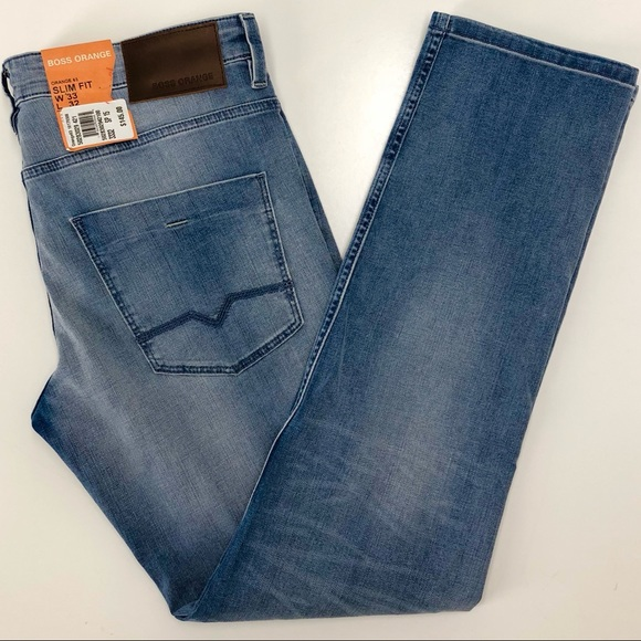 enjoy cheap price complimentary shipping most desirable fashion Hugo Boss Orange 63 Jeans Mens 34W x 32L Slim Fit NWT